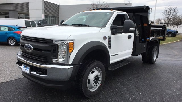 2017 F-450 Regular Cab DRW 4x4, Rugby Dump Body #H1445 - photo 3