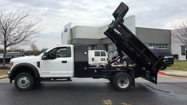 2017 F-450 Regular Cab DRW 4x4, Rugby Dump Body #H1445 - photo 6