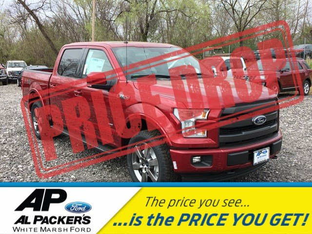 2017 F-150 Crew Cab 4x4 Pickup #H1611 - photo 1