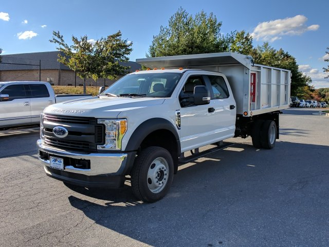 2017 F-450 Crew Cab DRW 4x4, Freedom Canyon Landscape Dump #H2157 - photo 4