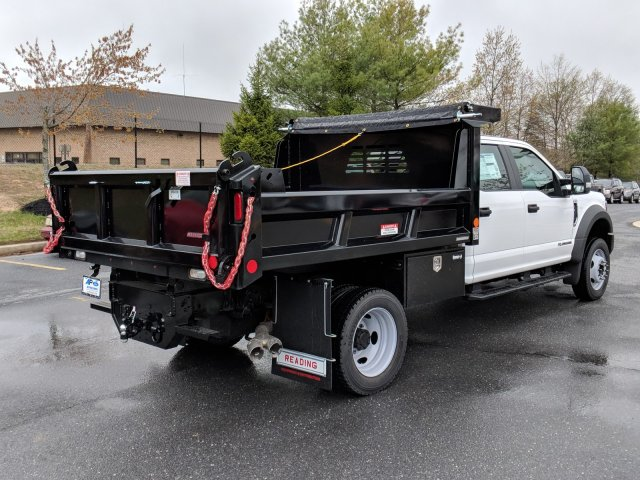 2018 F-450 Crew Cab DRW 4x4, Reading Dump Body #J1253F - photo 3