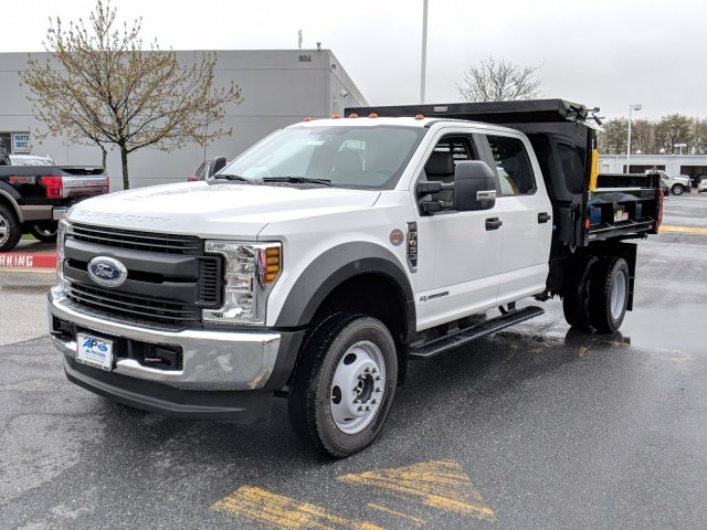 2018 F-450 Crew Cab DRW 4x4, Reading Dump Body #J1253F - photo 5