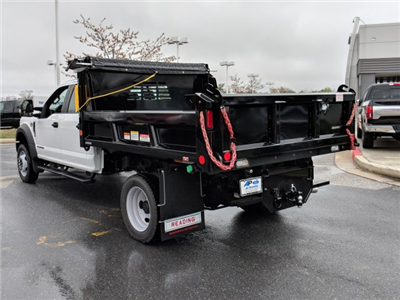 2018 F-450 Crew Cab DRW 4x4, Reading Marauder Standard Duty Dump Dump Body #J1253F - photo 4