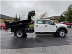 2018 F-450 Crew Cab DRW 4x4, Reading Dump Body #J1253F - photo 1