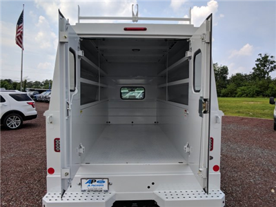 2018 F-350 Crew Cab 4x4,  Reading Panel and Tapered Panel Body Service Utility Van #J1451F - photo 11