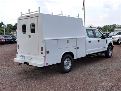2018 F-350 Crew Cab 4x4,  Reading Panel and Tapered Panel Body Service Utility Van #J1451F - photo 2
