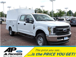 2018 F-350 Crew Cab 4x4,  Reading Panel and Tapered Panel Body Service Utility Van #J1451F - photo 1