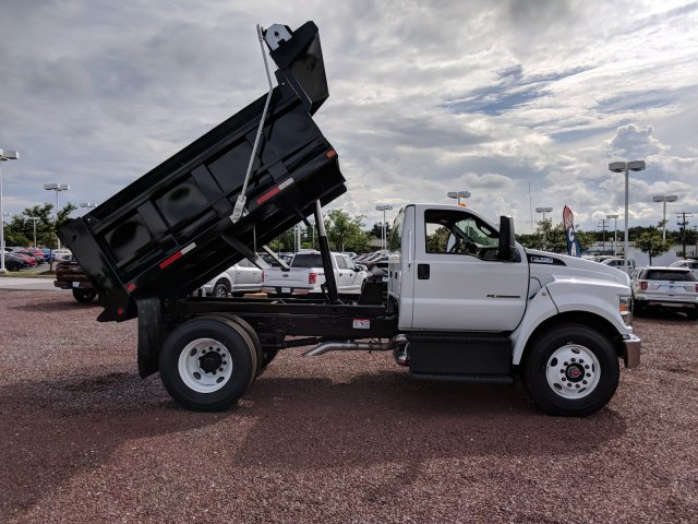2018 F-750 Regular Cab DRW 4x2,  Godwin Manufacturing Co. Dump Body #J1499F - photo 3