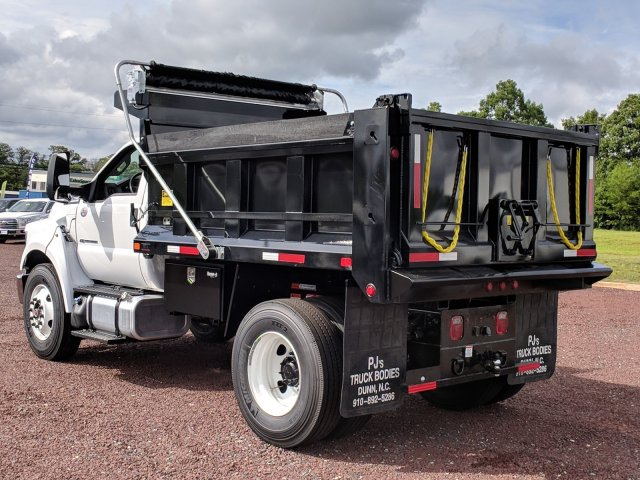 2018 F-750 Regular Cab DRW 4x2,  Godwin Manufacturing Co. Dump Body #J1499F - photo 4