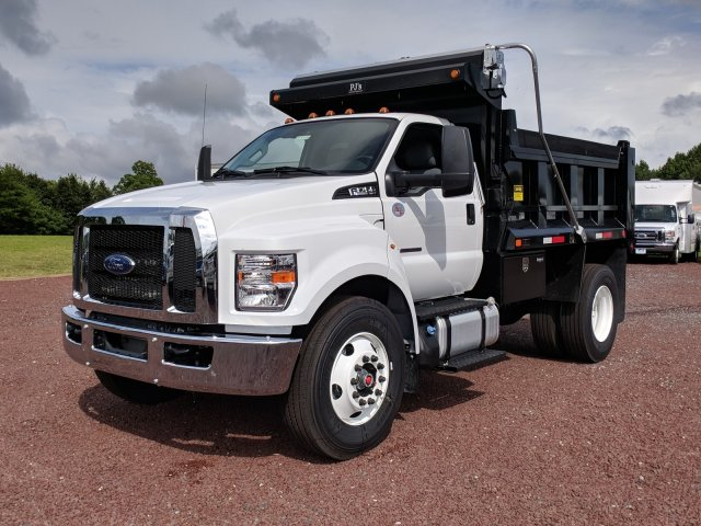 2018 F-750 Regular Cab DRW 4x2,  Godwin Manufacturing Co. Dump Body #J1499F - photo 5