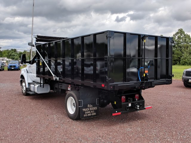 2018 F-650 Regular Cab DRW 4x2,  PJ's Truck Bodies & Equipment Platform Body #J1579F - photo 3