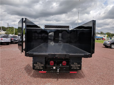 2018 F-650 Regular Cab DRW 4x2,  PJ's Truck Bodies & Equipment Platform Body #J1579F - photo 9