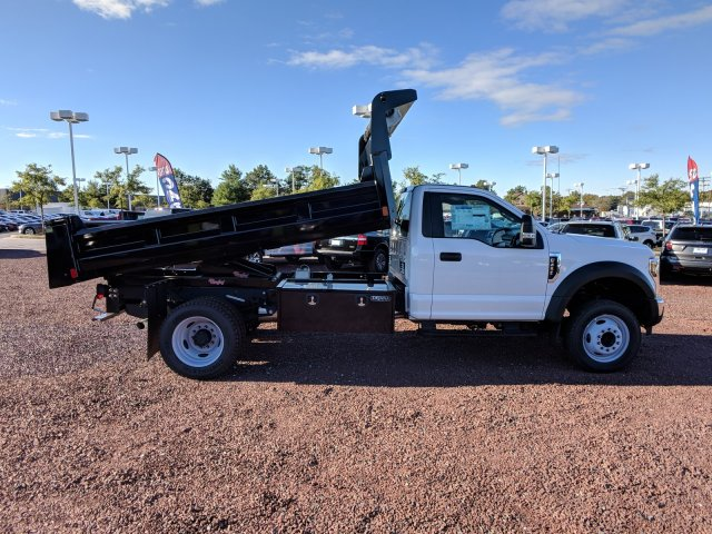 2018 F-450 Regular Cab DRW 4x2,  Rugby Dump Body #J1697F - photo 3