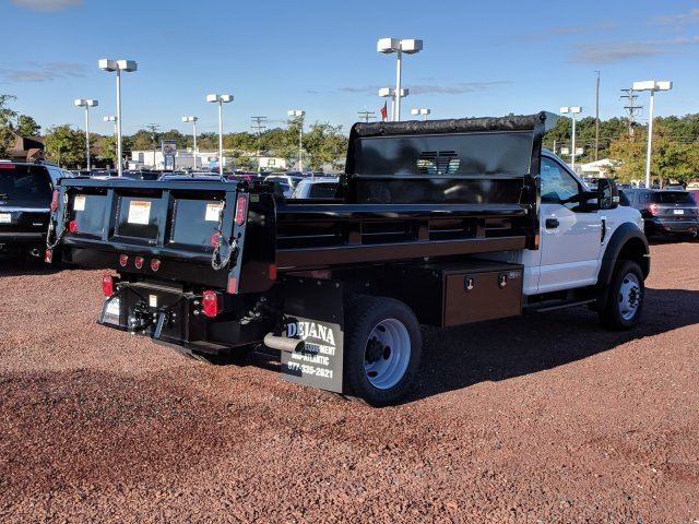 2018 F-450 Regular Cab DRW 4x2,  Rugby Dump Body #J1697F - photo 2