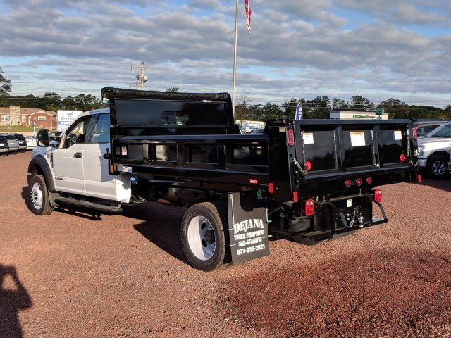 2018 F-450 Crew Cab DRW 4x4,  Rugby Dump Body #J1748F - photo 4