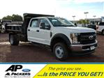 2018 F-450 Crew Cab DRW 4x4,  Rugby Dump Body #J1748F - photo 1