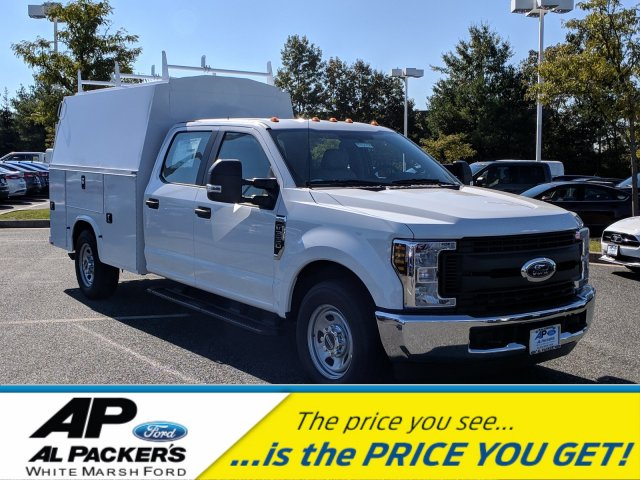 2018 F-350 Crew Cab 4x2,  Knapheide KUVcc Service Body #J1805F - photo 1