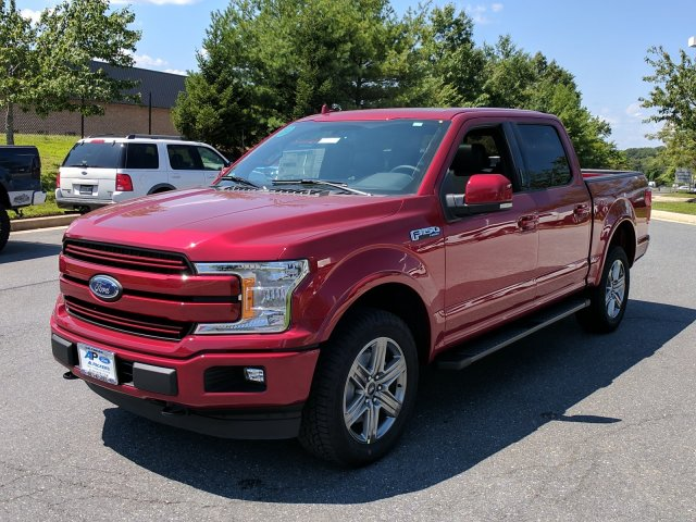 2018 F-150 Crew Cab 4x4 Pickup #J505 - photo 4
