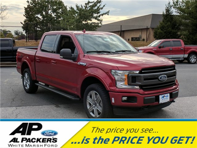 2018 F-150 Crew Cab 4x4 Pickup #J591 - photo 1