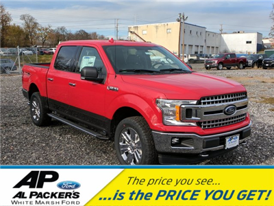 2018 F-150 Crew Cab 4x4, Pickup #J661 - photo 1