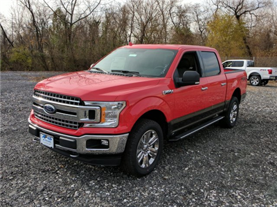 2018 F-150 Crew Cab 4x4, Pickup #J661 - photo 4