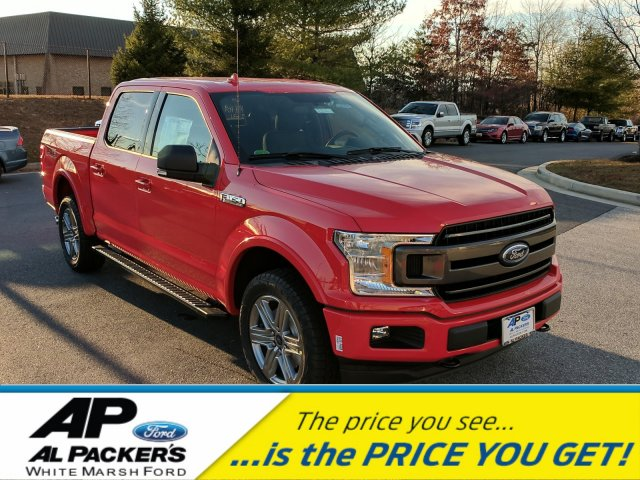 2018 F-150 SuperCrew Cab 4x4,  Pickup #J705 - photo 1