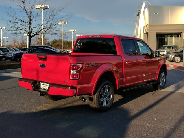2018 F-150 SuperCrew Cab 4x4,  Pickup #J705 - photo 2