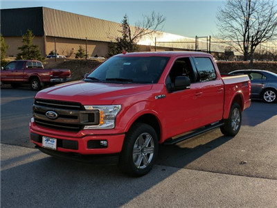 2018 F-150 SuperCrew Cab 4x4,  Pickup #J705 - photo 4