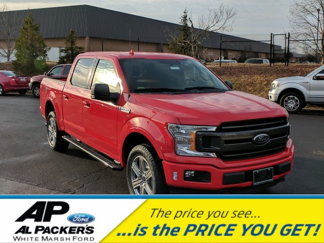 2018 F-150 Crew Cab 4x4, Pickup #J778 - photo 1