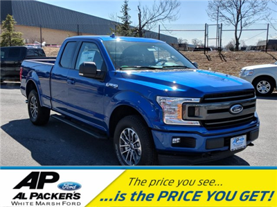 2018 F-150 Super Cab 4x4, Pickup #J885 - photo 1