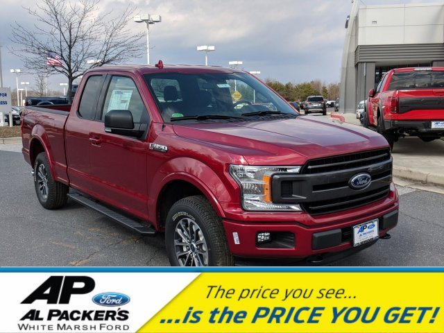 2018 F-150 Super Cab 4x4, Pickup #J918 - photo 1