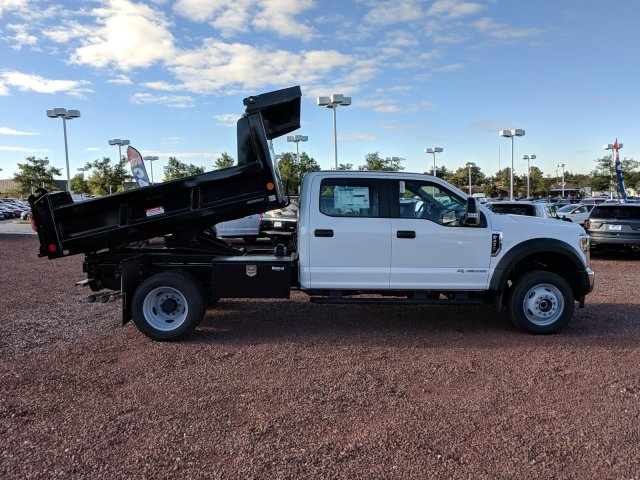 2019 F-450 Crew Cab DRW 4x4,  Reading Dump Body #K555F - photo 3