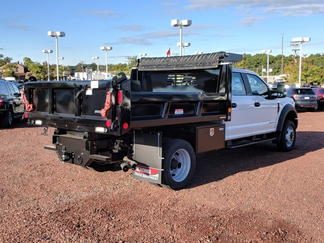 2019 F-450 Crew Cab DRW 4x4,  Reading Dump Body #K555F - photo 2