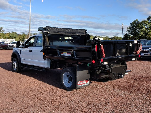2019 F-450 Crew Cab DRW 4x4,  Reading Dump Body #K555F - photo 4