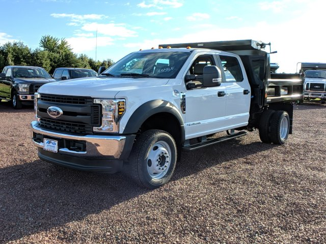 2019 F-450 Crew Cab DRW 4x4,  Reading Dump Body #K555F - photo 5