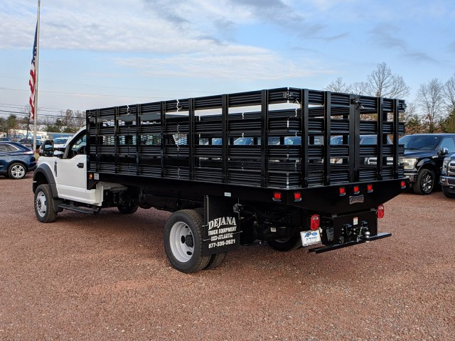 2019 F-550 Regular Cab DRW 4x2,  Knapheide Stake Bed #K747F - photo 3