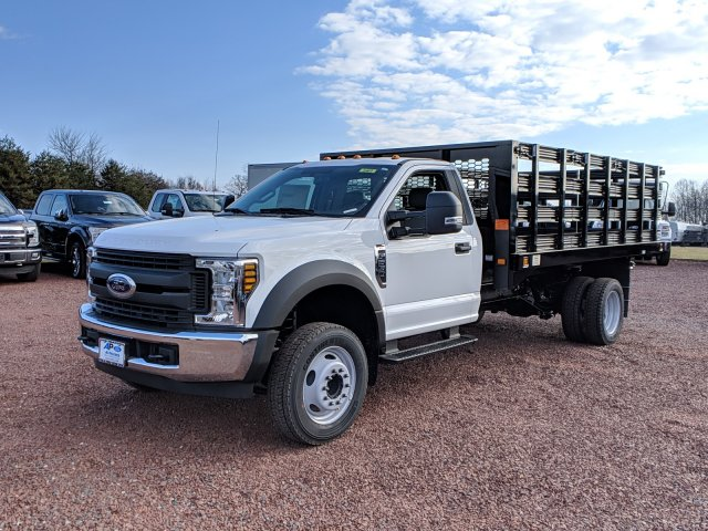 2019 F-550 Regular Cab DRW 4x2,  Knapheide Stake Bed #K747F - photo 4