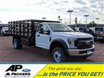 2019 F-550 Regular Cab DRW 4x2,  Knapheide Stake Bed #K747F - photo 1