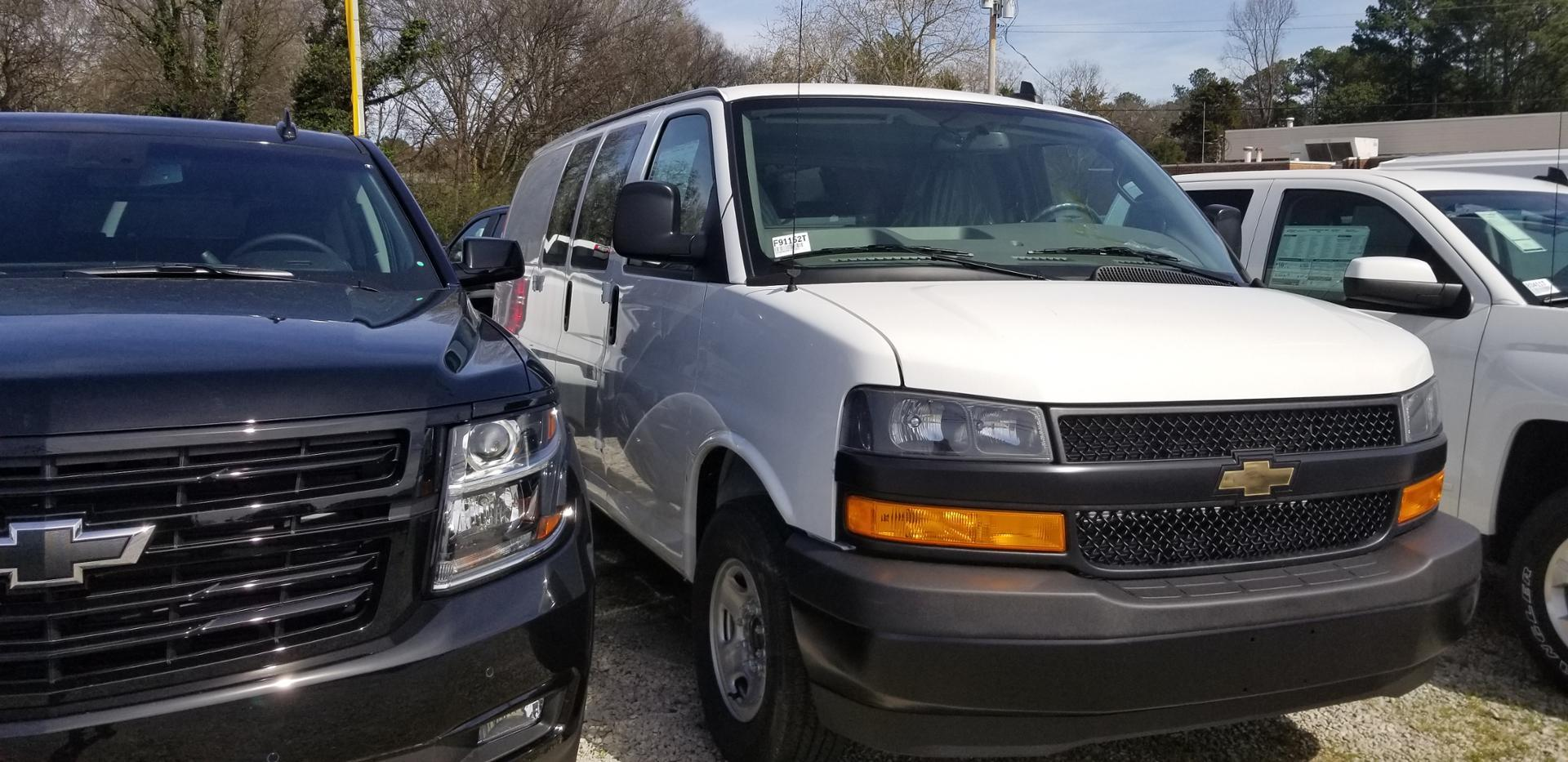 2019 Chevrolet Express 2500 4x2, Sortimo Upfitted Cargo Van #F91152T - photo 1