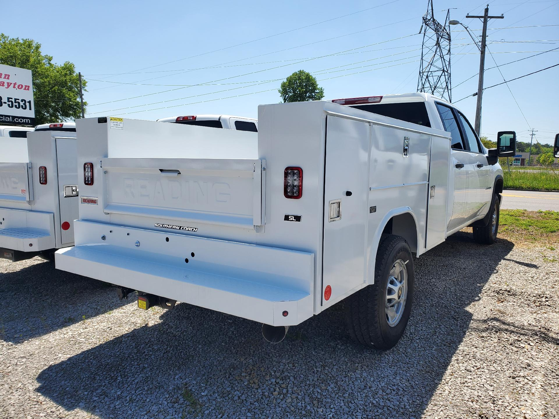 2020 Chevrolet Silverado 2500 Crew Cab 4x4, Reading Service Body #FL1417T - photo 1