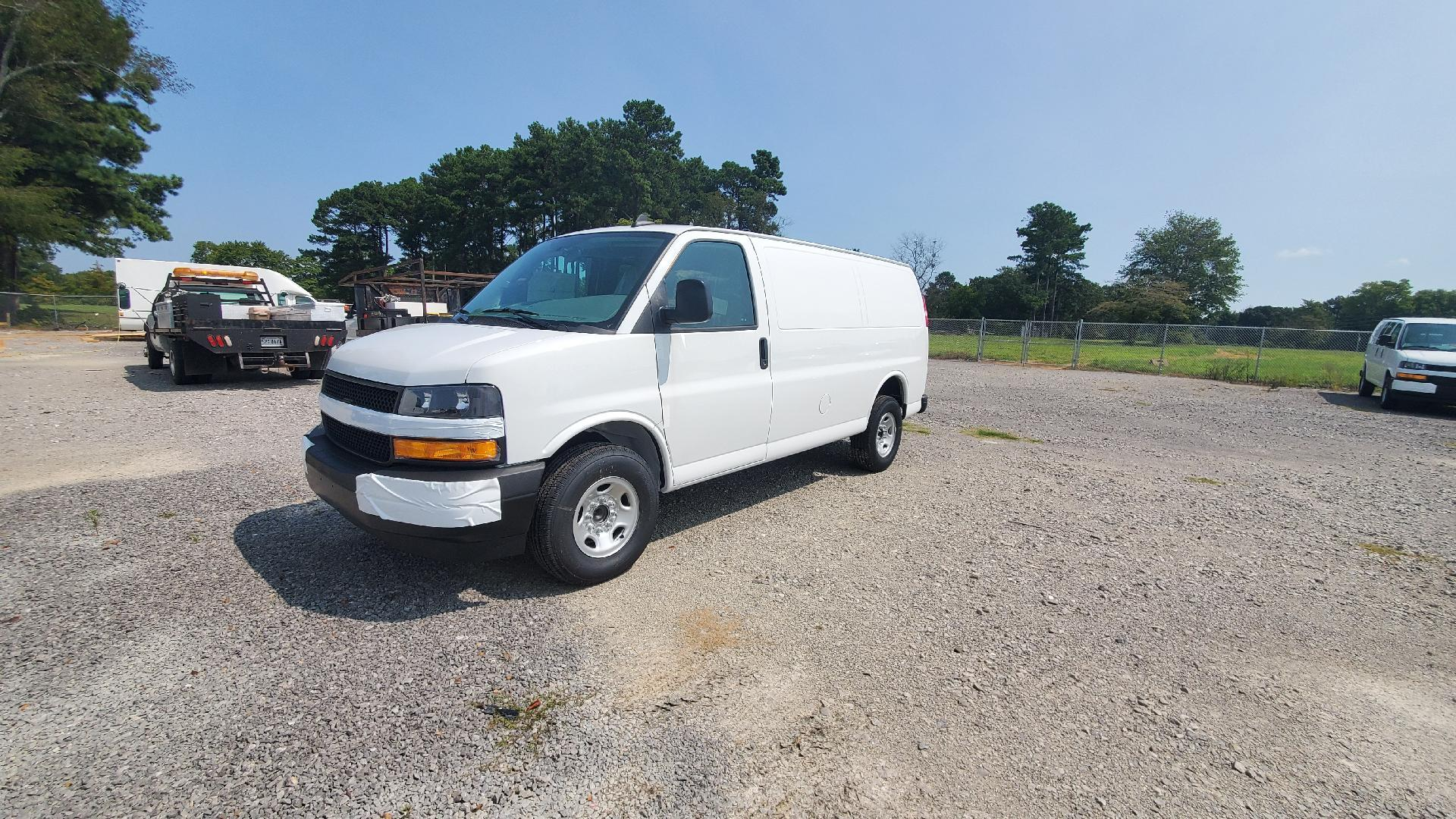 2020 Chevrolet Express 2500 4x2, Masterack Upfitted Cargo Van #FL2181T - photo 1