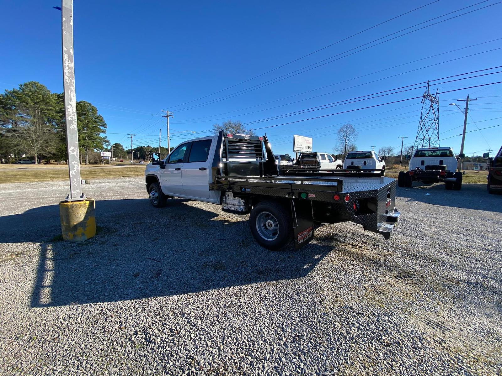 2021 Chevrolet Silverado 3500 Crew Cab AWD, Freedom Platform Body #FM0902T - photo 1