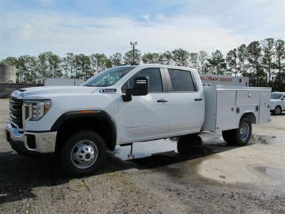 2020 GMC Sierra 3500 Crew Cab 4x4, Service Body #G20873 - photo 4