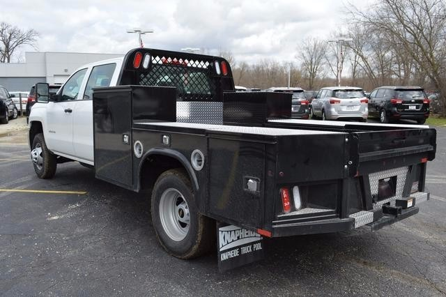 2016 Silverado 3500 Crew Cab 4x4, Knapheide Platform Body #36184 - photo 5