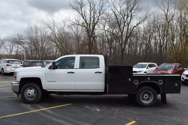 2016 Silverado 3500 Crew Cab 4x4, Knapheide Platform Body #36184 - photo 6