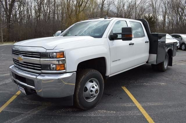2016 Silverado 3500 Crew Cab 4x4, Knapheide Platform Body #36184 - photo 7