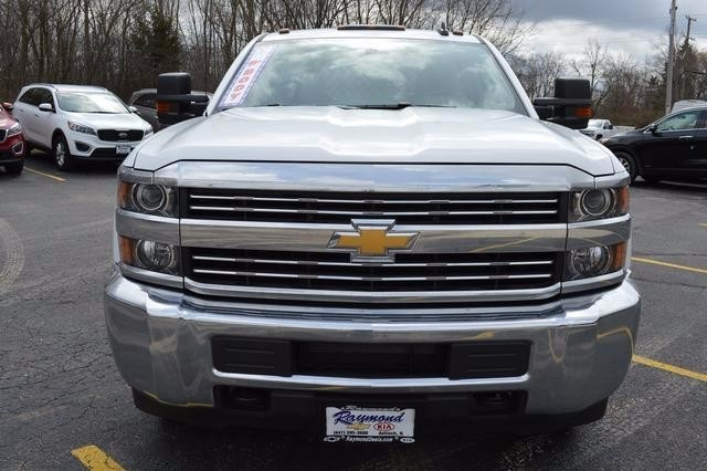 2016 Silverado 3500 Crew Cab 4x4, Knapheide Platform Body #36184 - photo 8