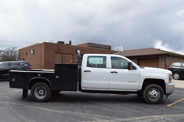 2016 Silverado 3500 Crew Cab 4x4, Knapheide Platform Body #36184 - photo 3