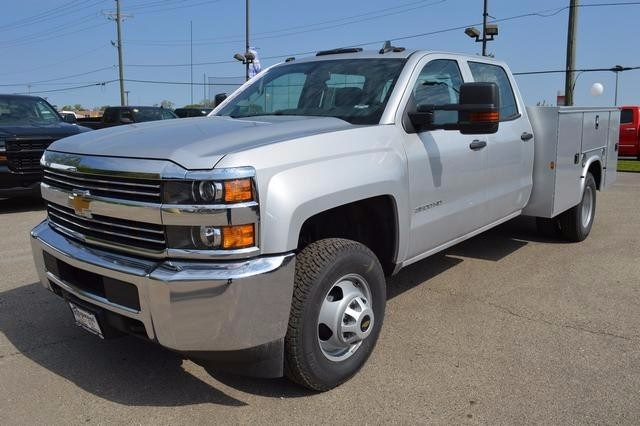 2016 Silverado 3500 Crew Cab 4x4, Knapheide Service Body #36198 - photo 6