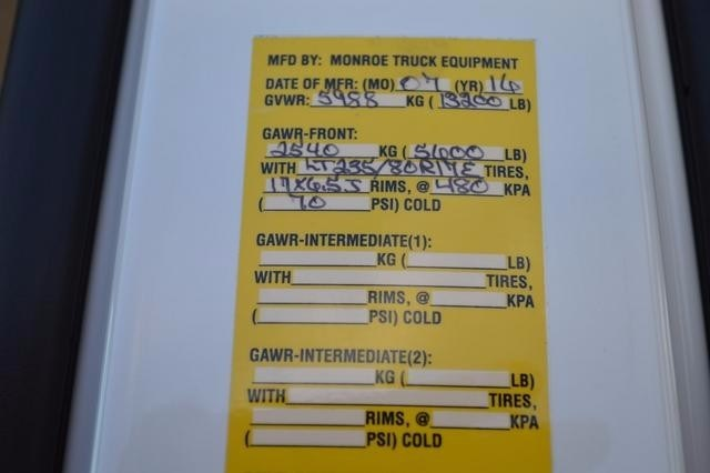 2016 Silverado 3500 Crew Cab DRW 4x4, Monroe Stake Bed #36783 - photo 34